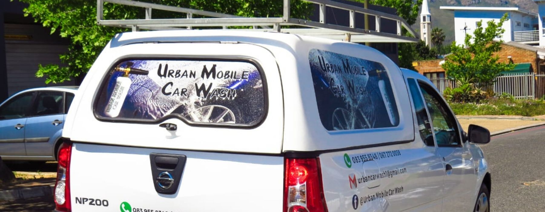 WELCOME TO URBAN MOBILE CAR WASH